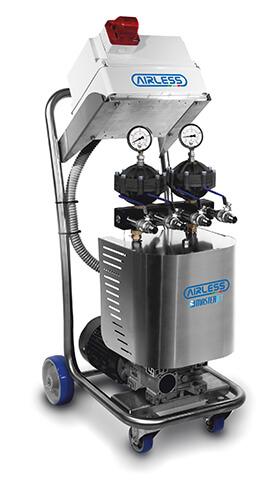 pompa applicazione airless pressione